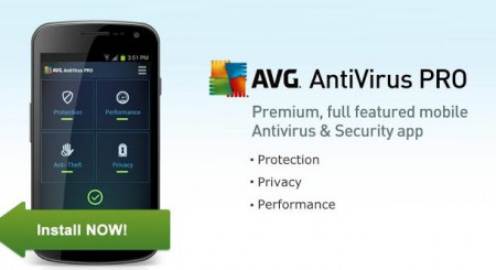 AVG AntiVirus PRO for Android 1 lic. 1 rok 1