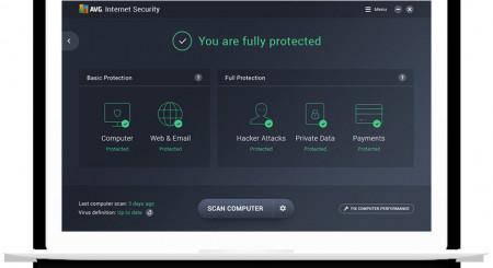 AVG Internet Security 2017 1 lic. 1 rok 4