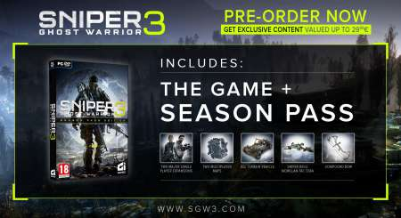 Sniper Ghost Warrior 3 Season Pass 1