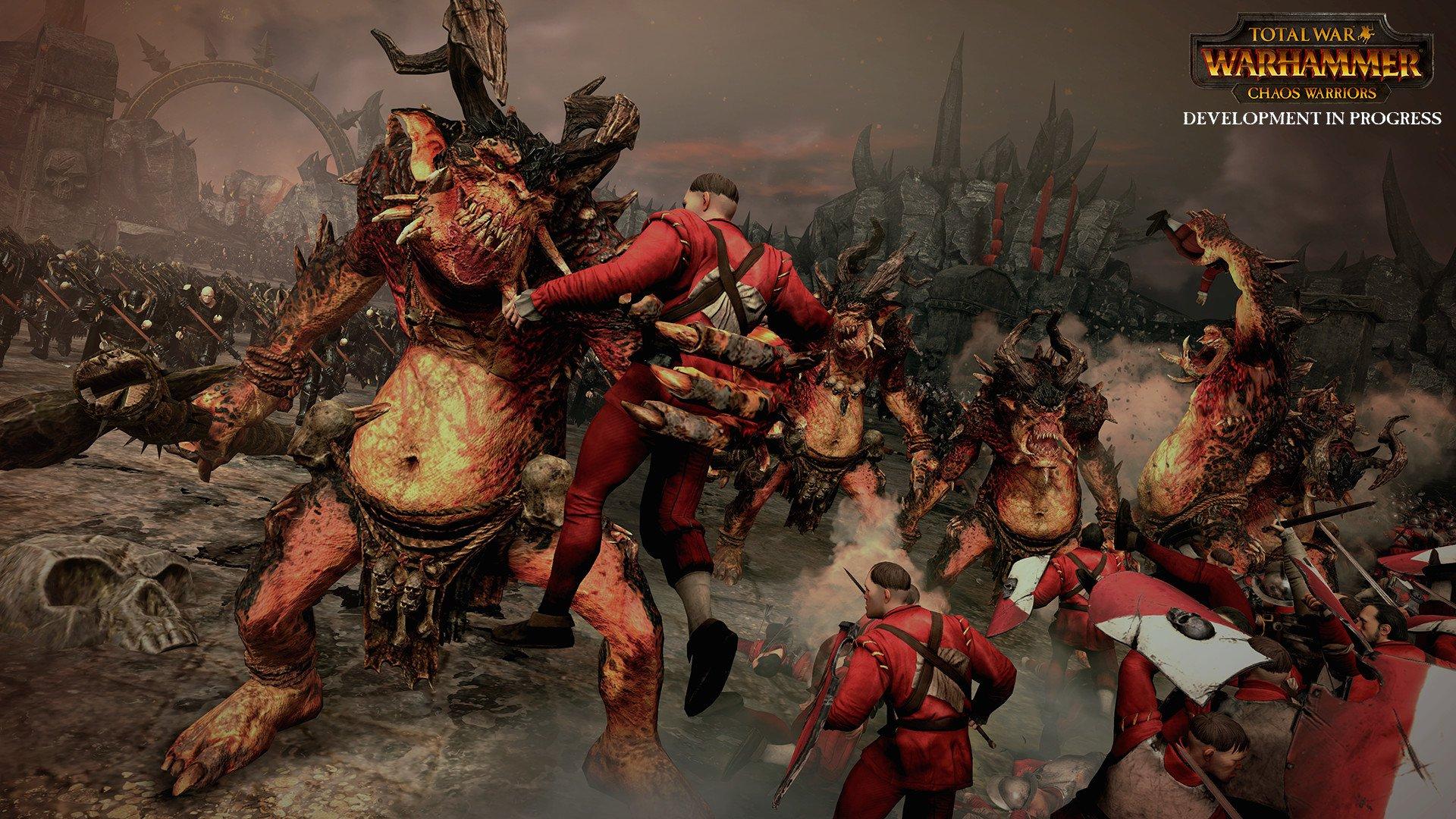 Total War WARHAMMER Chaos Warriors Race Pack 10