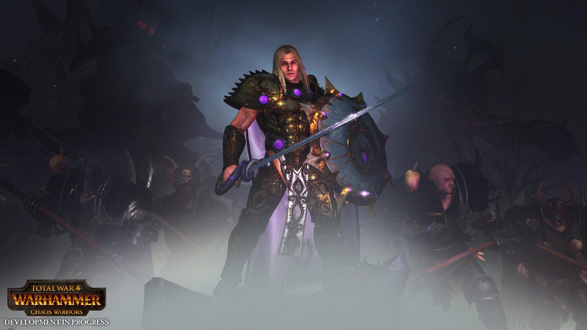Total War WARHAMMER Chaos Warriors Race Pack 6