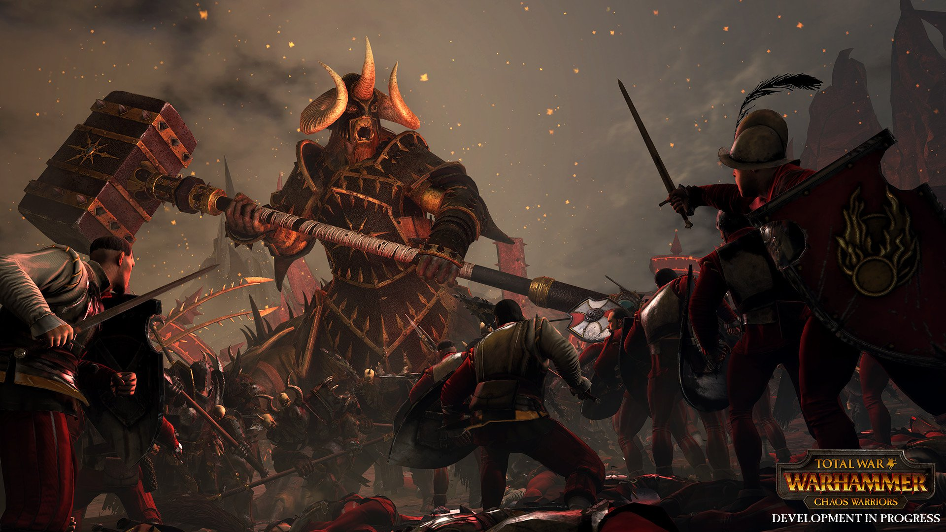 Total War WARHAMMER Chaos Warriors Race Pack 8