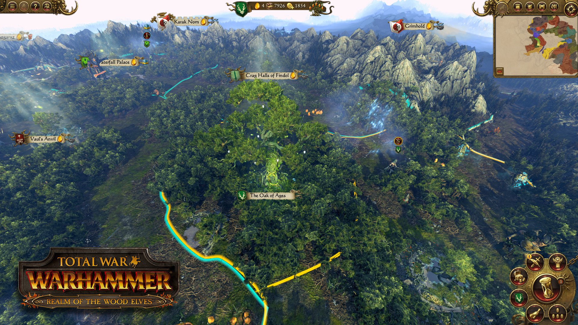 Total War WARHAMMER Realm of The Wood Elves 6