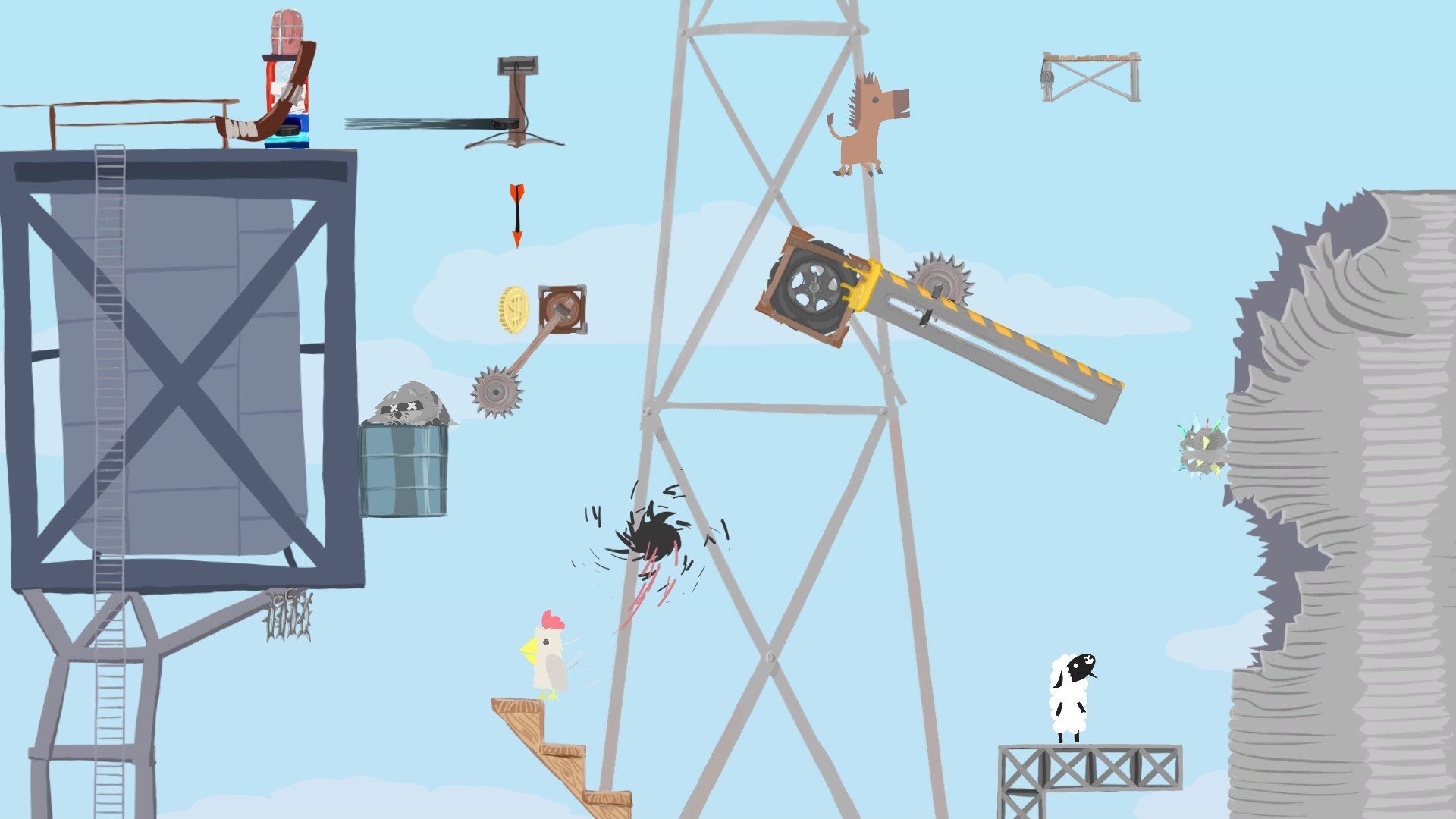 Ultimate Chicken Horse 7