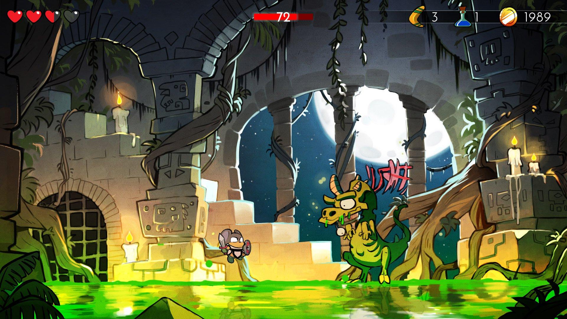 Wonder Boy The Dragons Trap 15