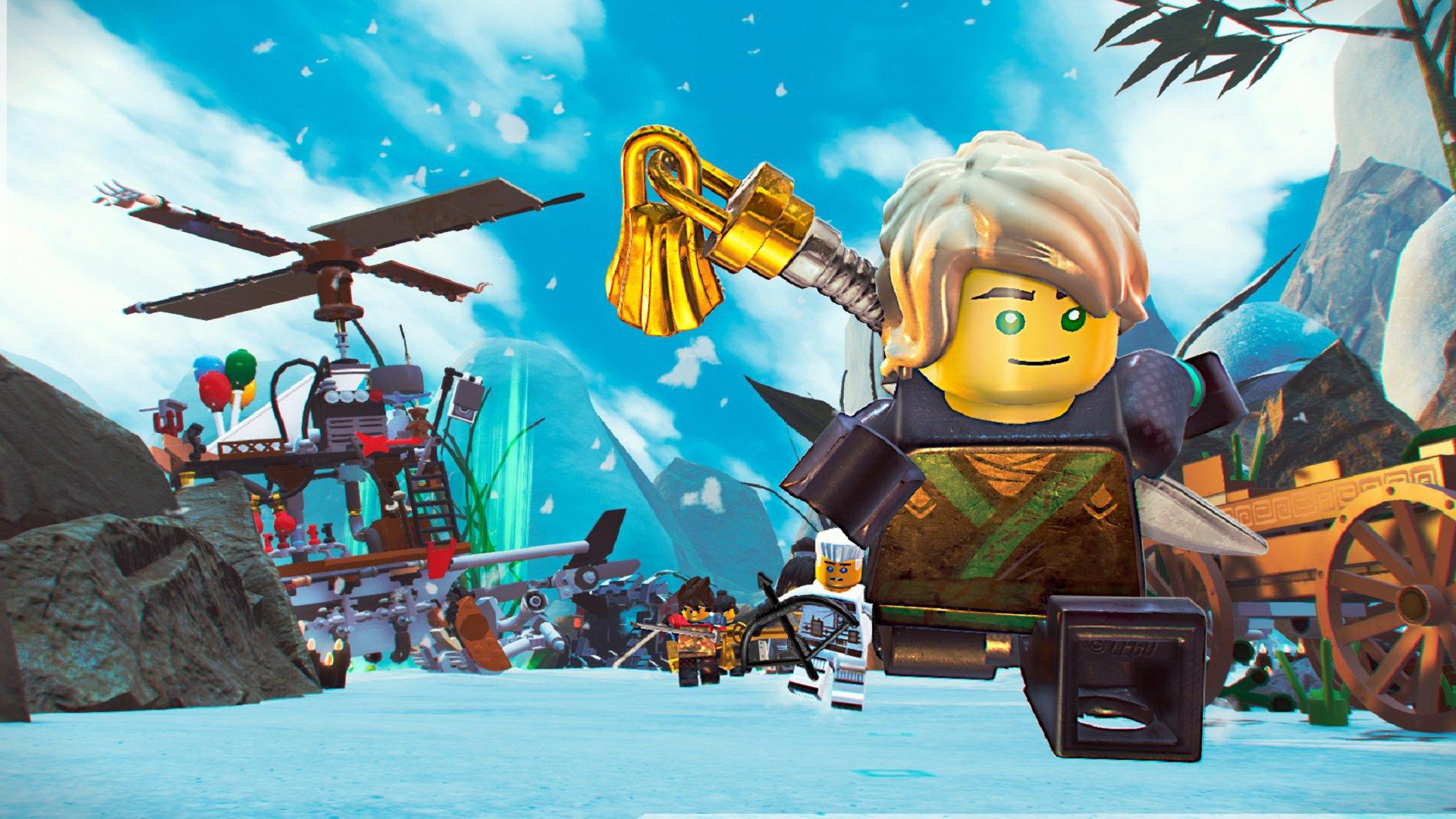 The LEGO NINJAGO Movie Video Game 1