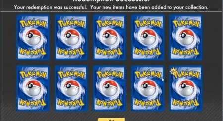 Pokemon Online TCG 10 Náhodných karet Booster 1