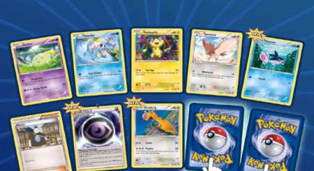 Pokemon Online TCG 10 Náhodných karet Booster 3