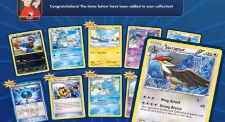 Pokemon Online TCG 10 Náhodných karet Booster 4