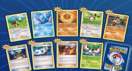 Pokemon Online TCG 10 Náhodných karet Booster 5