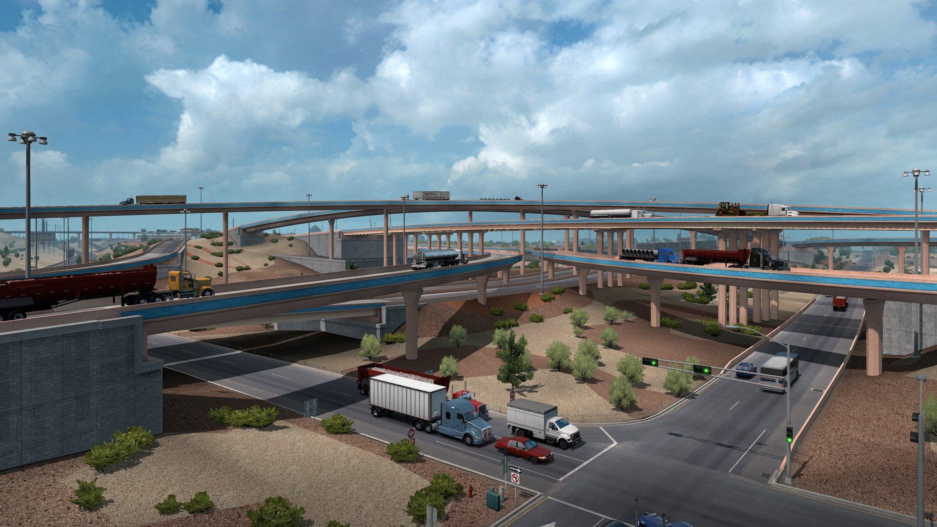 American Truck Simulator New Mexico 12