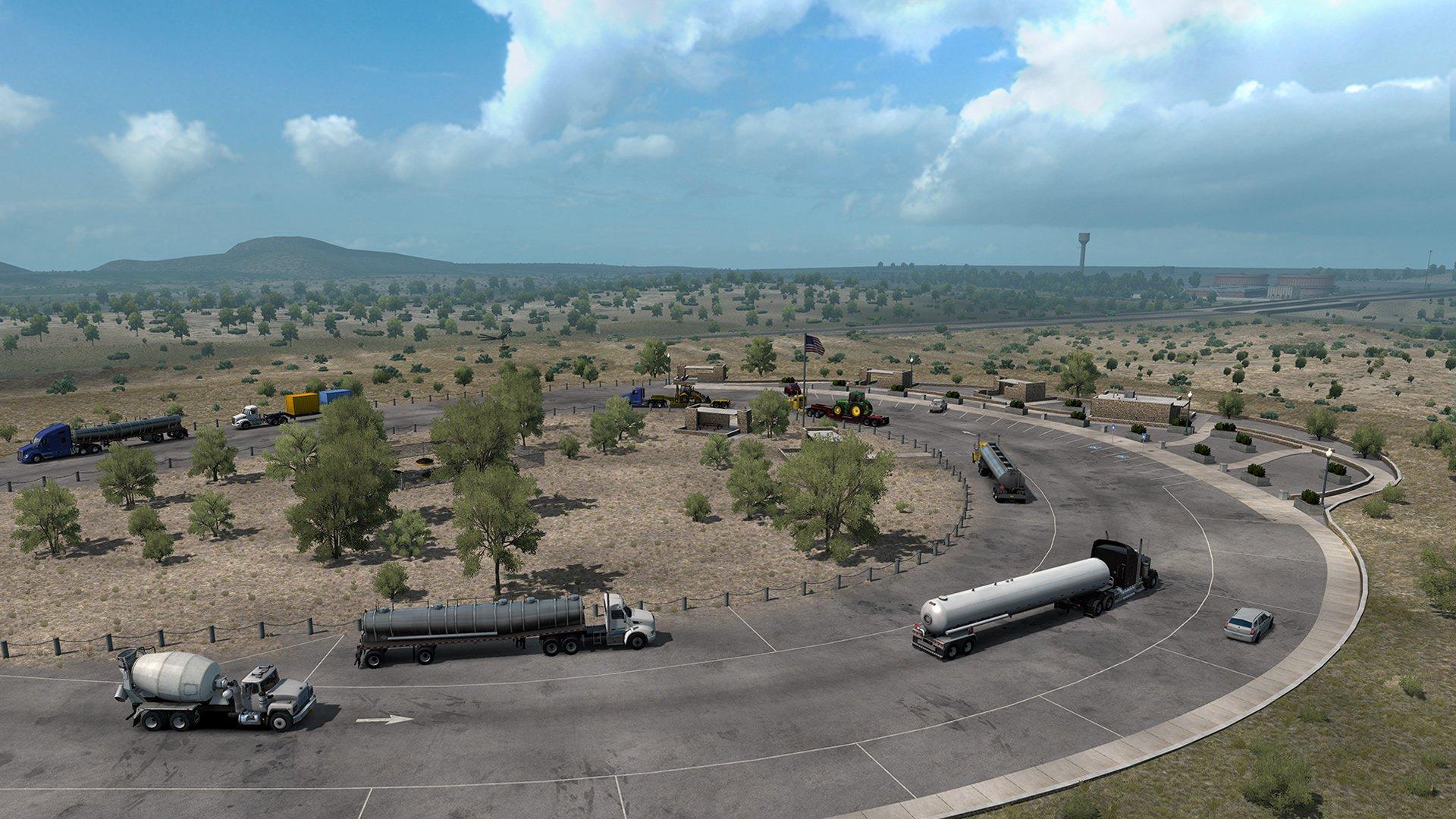 American Truck Simulator New Mexico 13