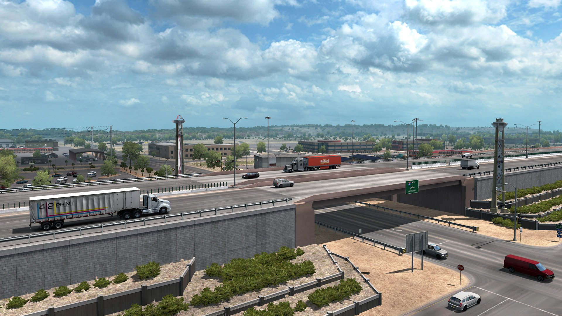 American Truck Simulator New Mexico 6