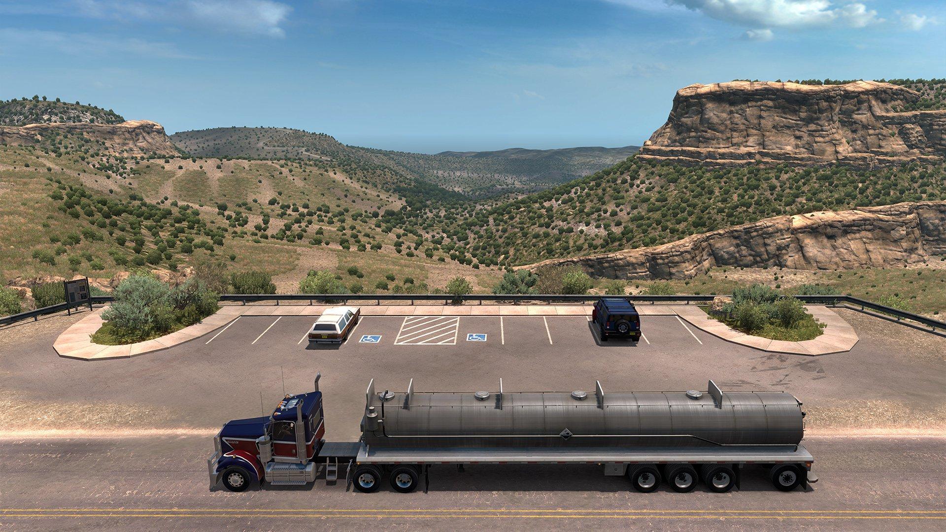 American Truck Simulator New Mexico 7