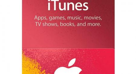 iTunes 10 USD 1