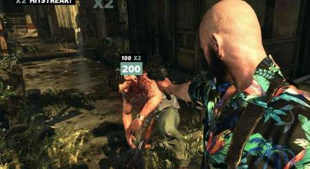 Max Payne 3 Cemetery Multiplayer Map DLC Xbox 360 2482