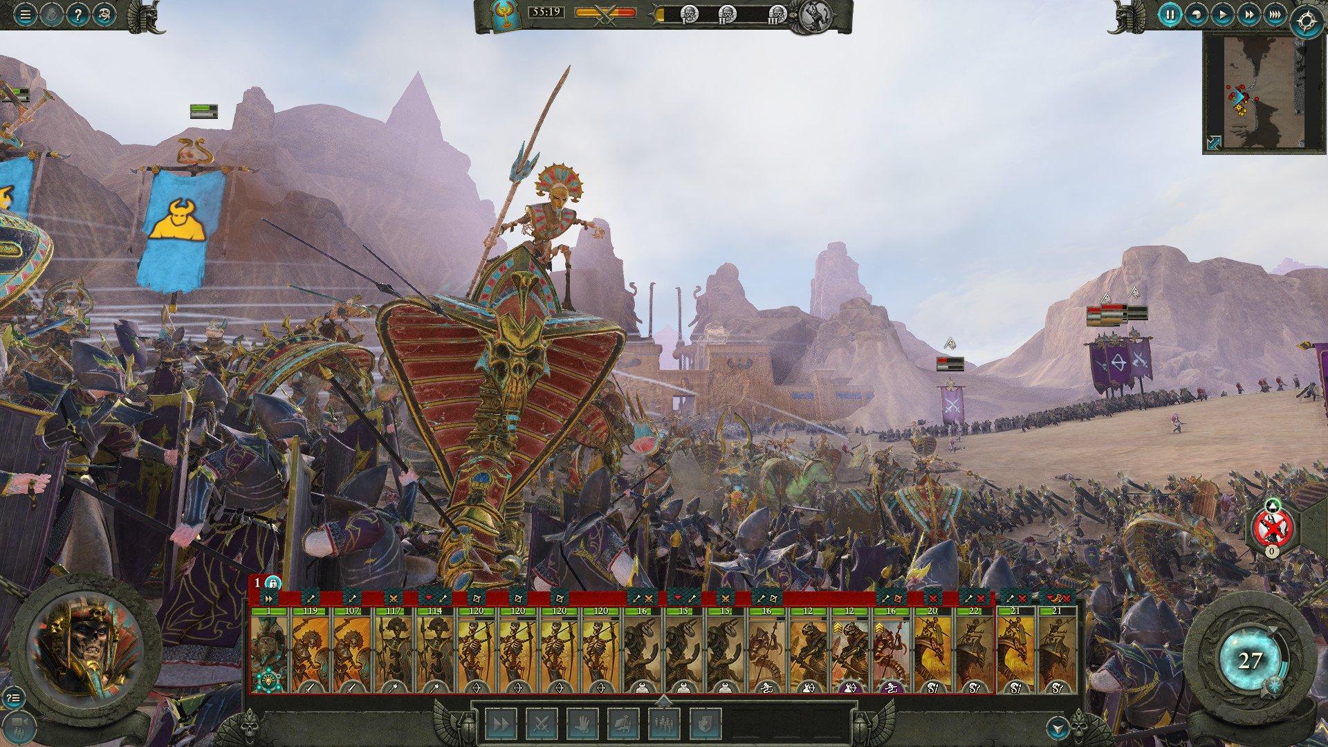 Total War WARHAMMER II Rise of the Tomb Kings 4