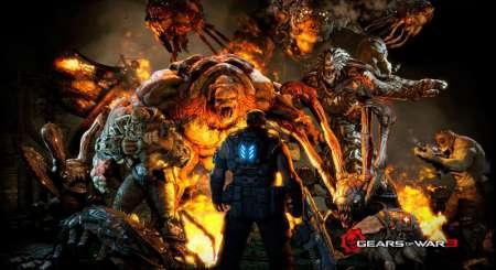 Gears of War 3 Commando Dom Xbox 360 2383