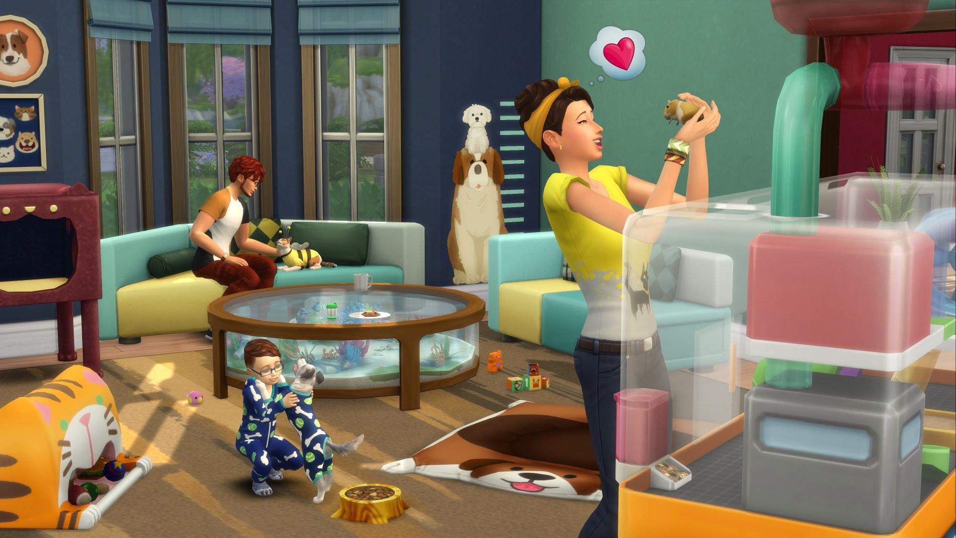 The Sims 4 Můj první mazlíček 1