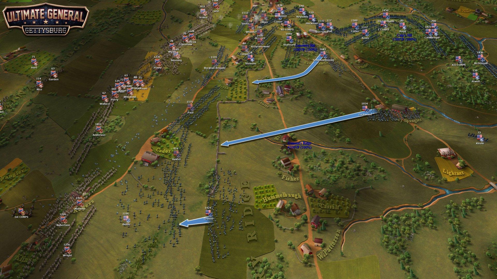 Ultimate General Gettysburg 15