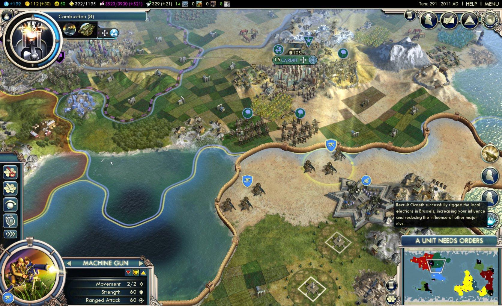 Civilization V Gods and Kings 2