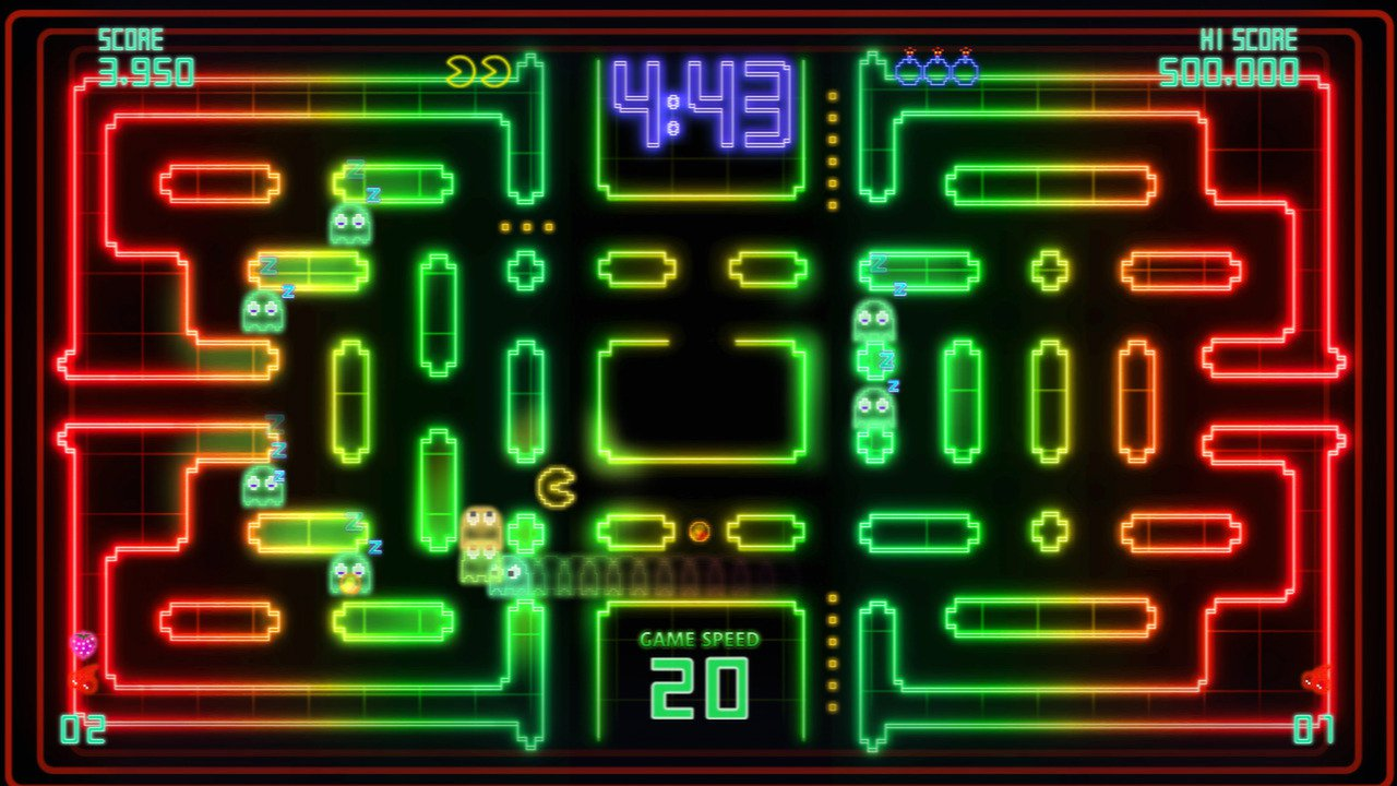 PAC-MAN Championship Edition DX+ All You Can Eat Full Edition 1