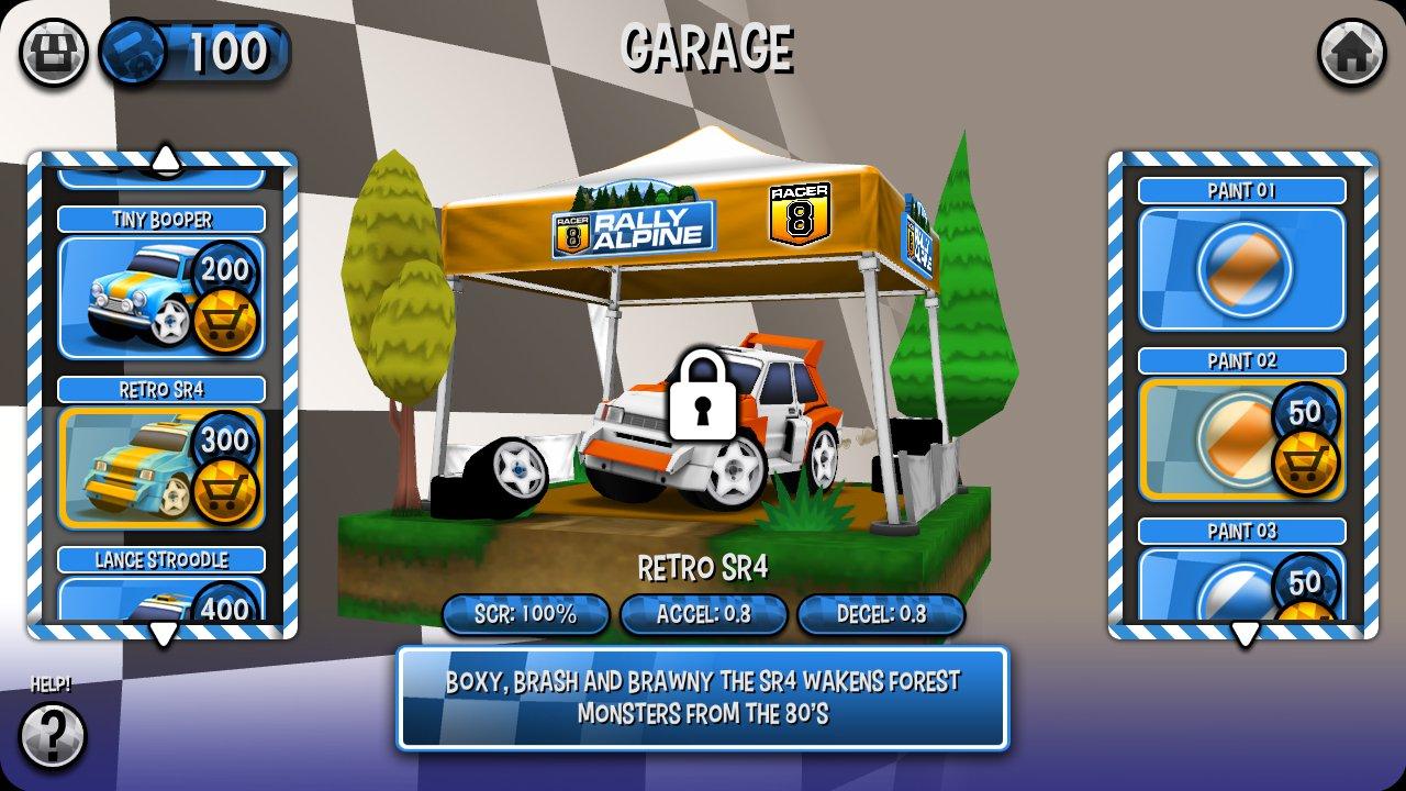 Racer 8 8