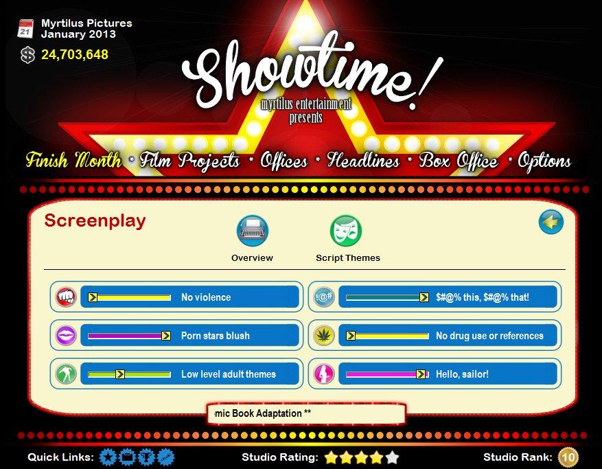 Showtime! 11