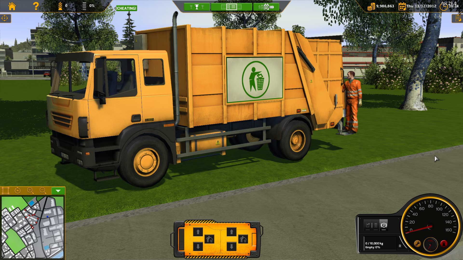 RECYCLE Garbage Truck Simulator 1