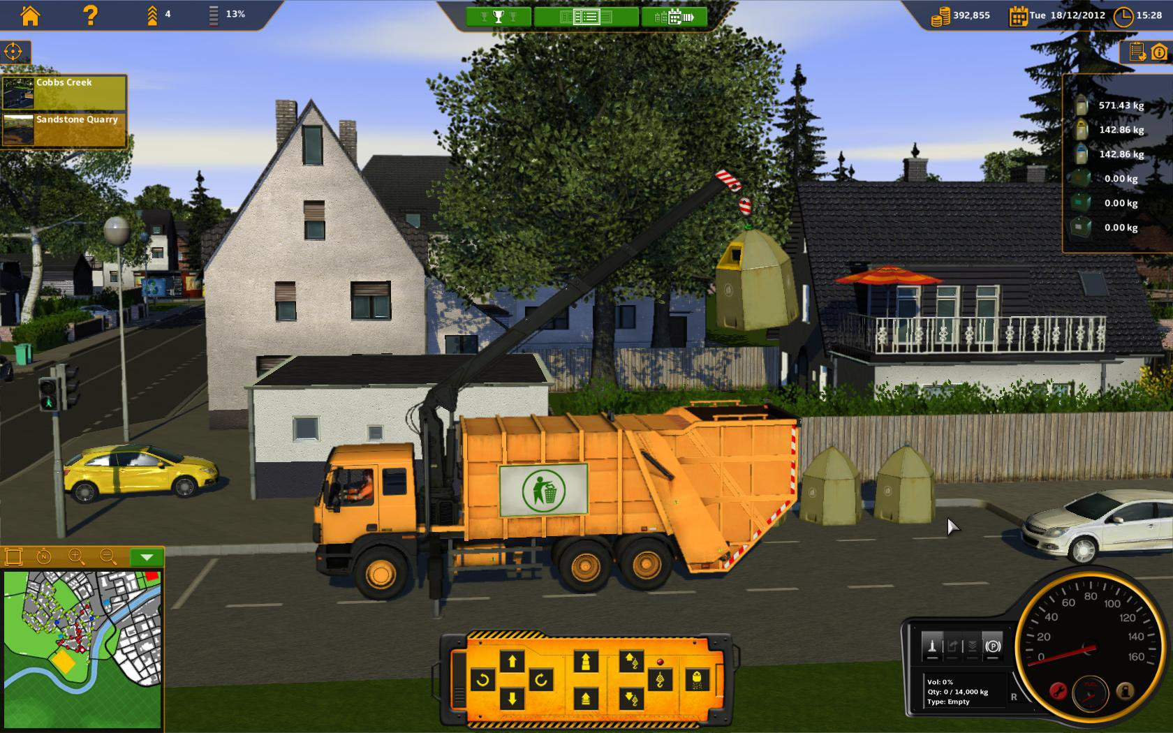 RECYCLE Garbage Truck Simulator 3