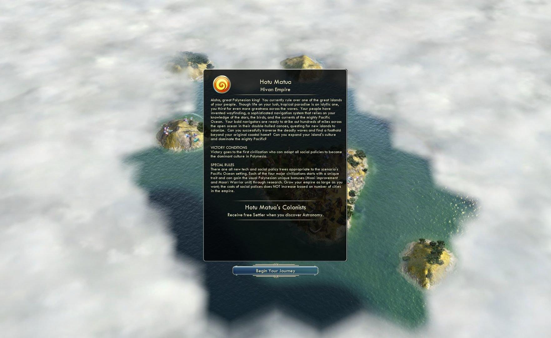 Sid Meiers Civilization V Civilization and Scenario Pack Polynesia 3
