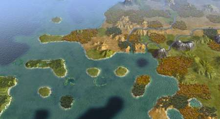 Sid Meiers Civilization V Explorers Map Pack 1