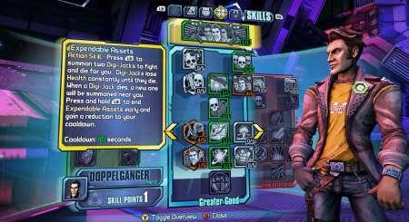 Borderlands The Pre-Sequel Handsome Jack Doppelganger Pack 2