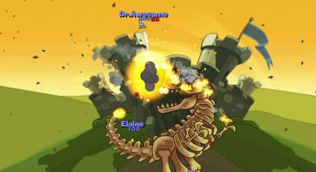 Worms Reloaded Forts Pack 2