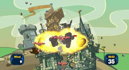 Worms Reloaded Forts Pack 3