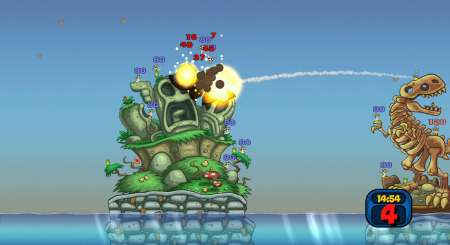 Worms Reloaded Forts Pack 4