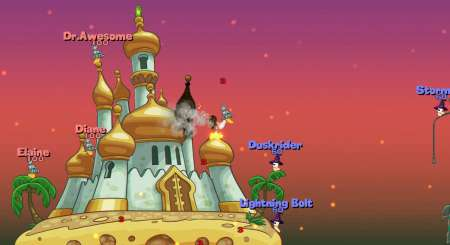 Worms Reloaded Forts Pack 5