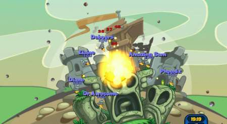 Worms Reloaded Forts Pack 6
