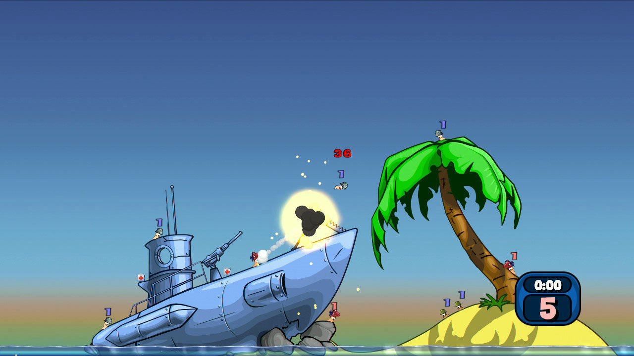 Worms Reloaded Retro Pack 3