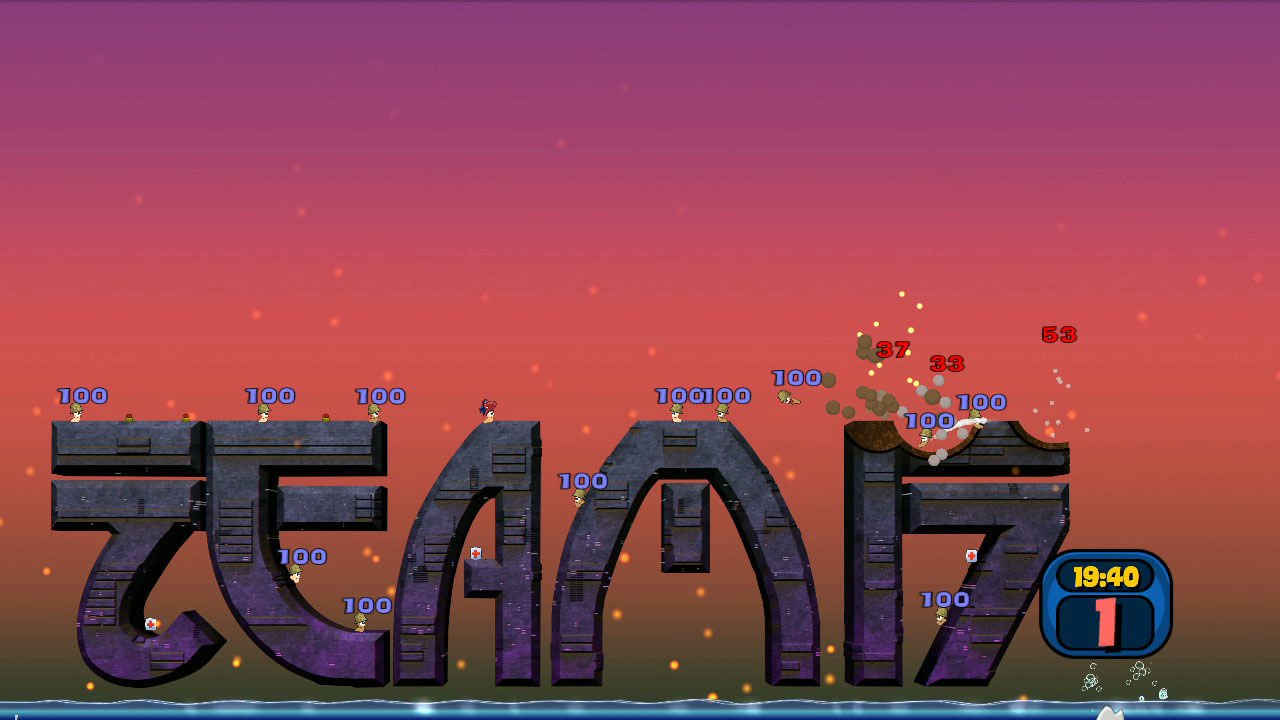 Worms Reloaded Retro Pack 5