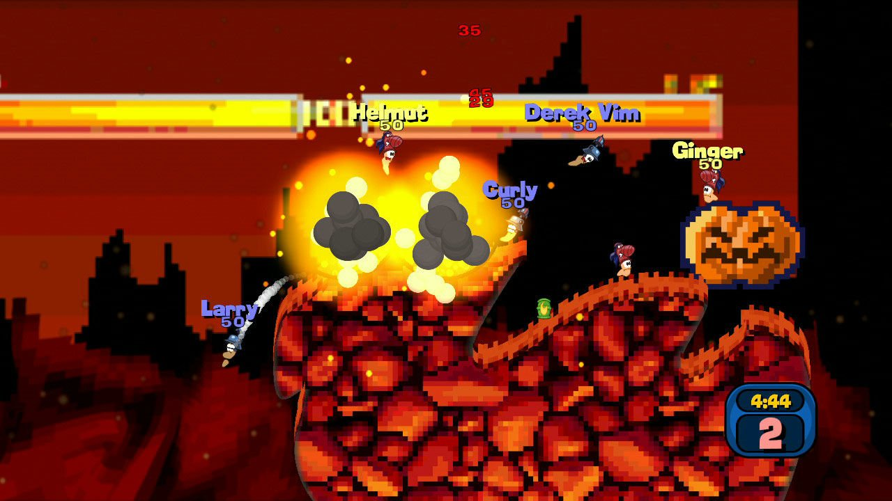 Worms Reloaded Retro Pack 7