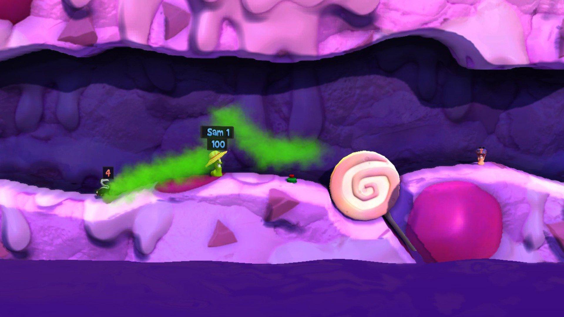 Worms Revolution Funfair 3
