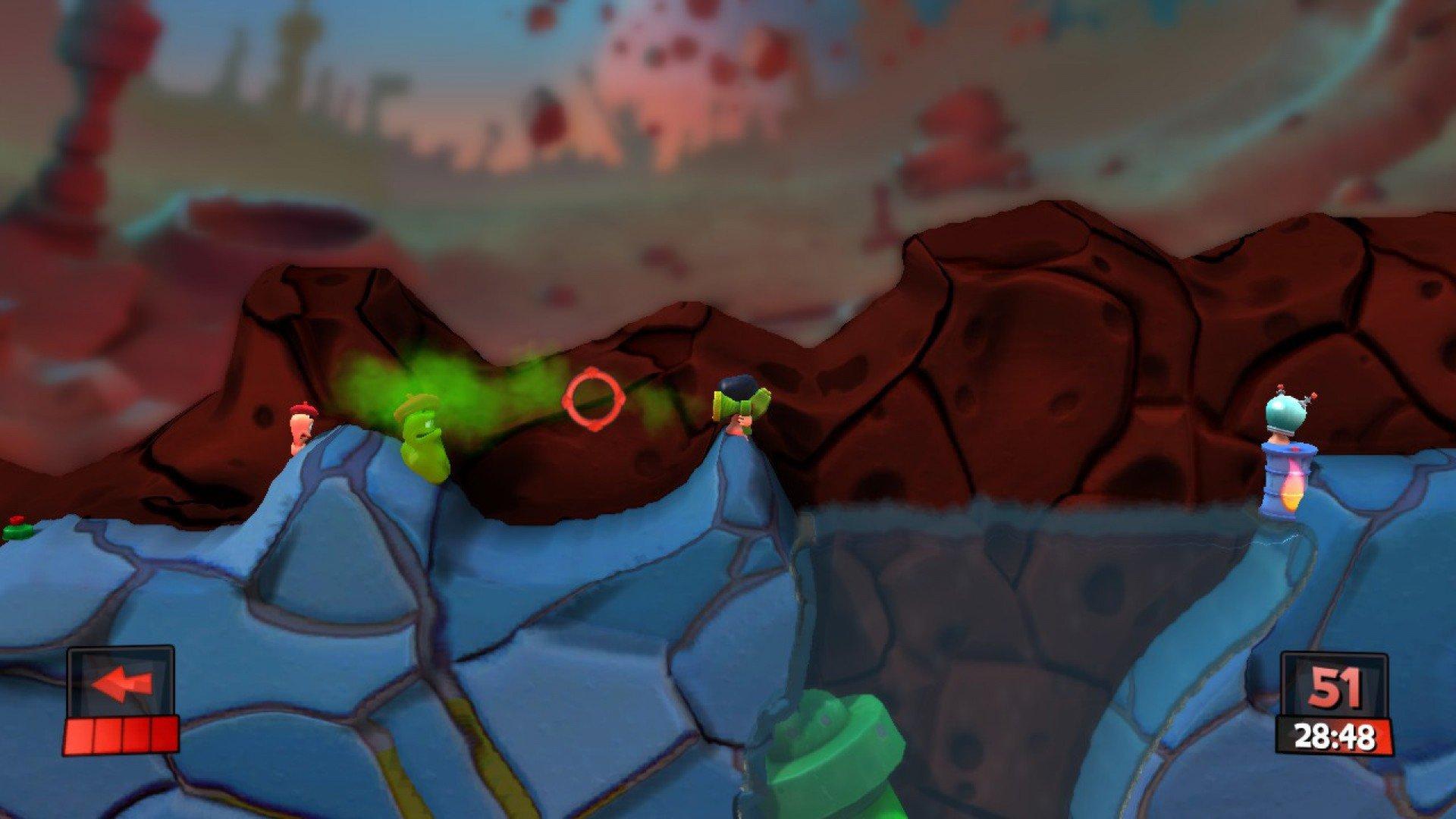 Worms Revolution Mars Pack 4