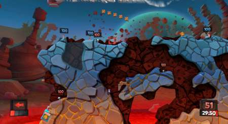 Worms Revolution Mars Pack 3