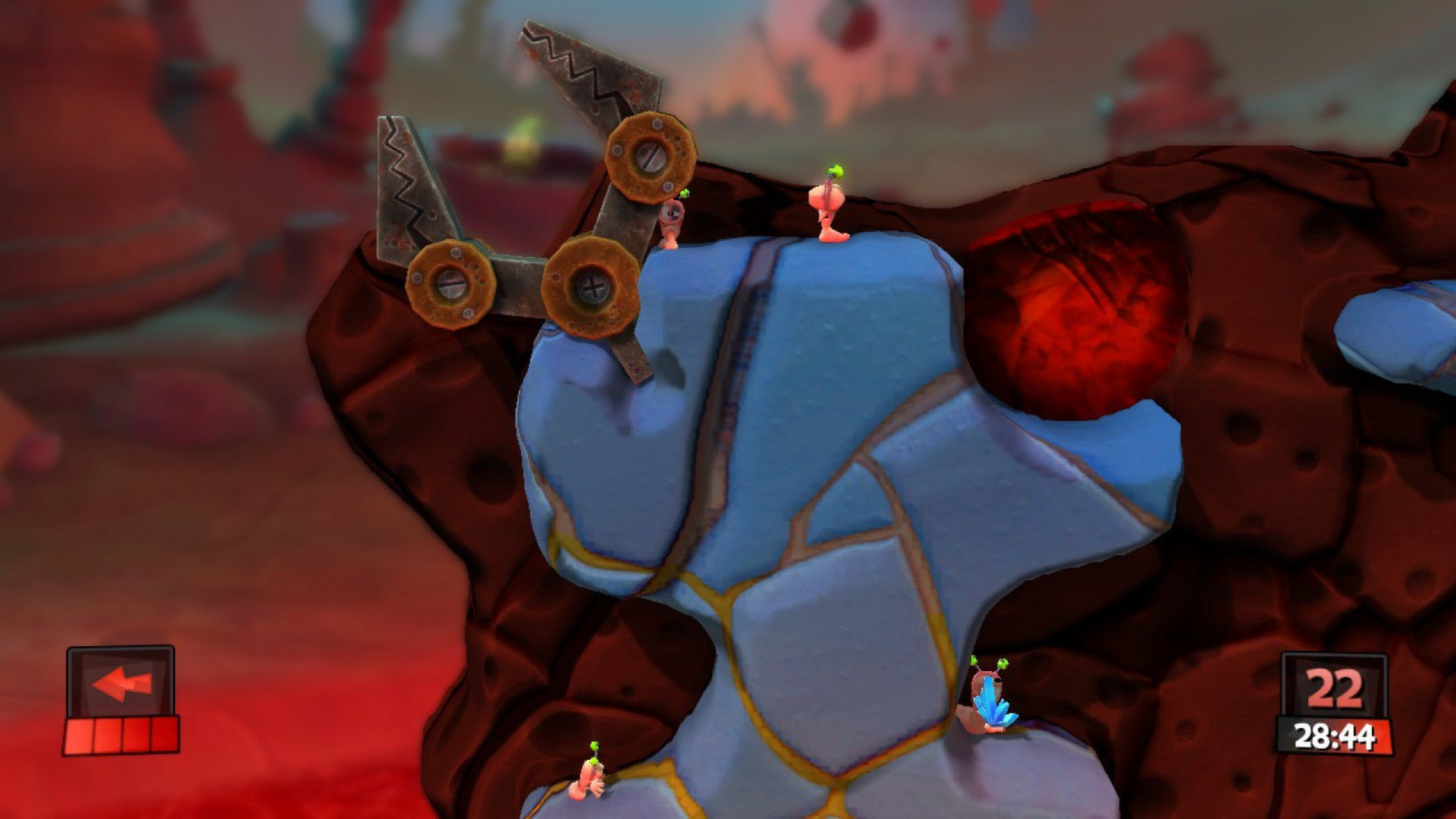 Worms Revolution Mars Pack 6