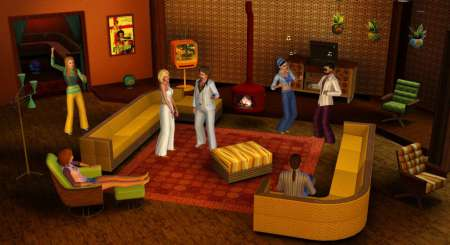 The Sims 3 70s, 80s and 90s Stuff 1