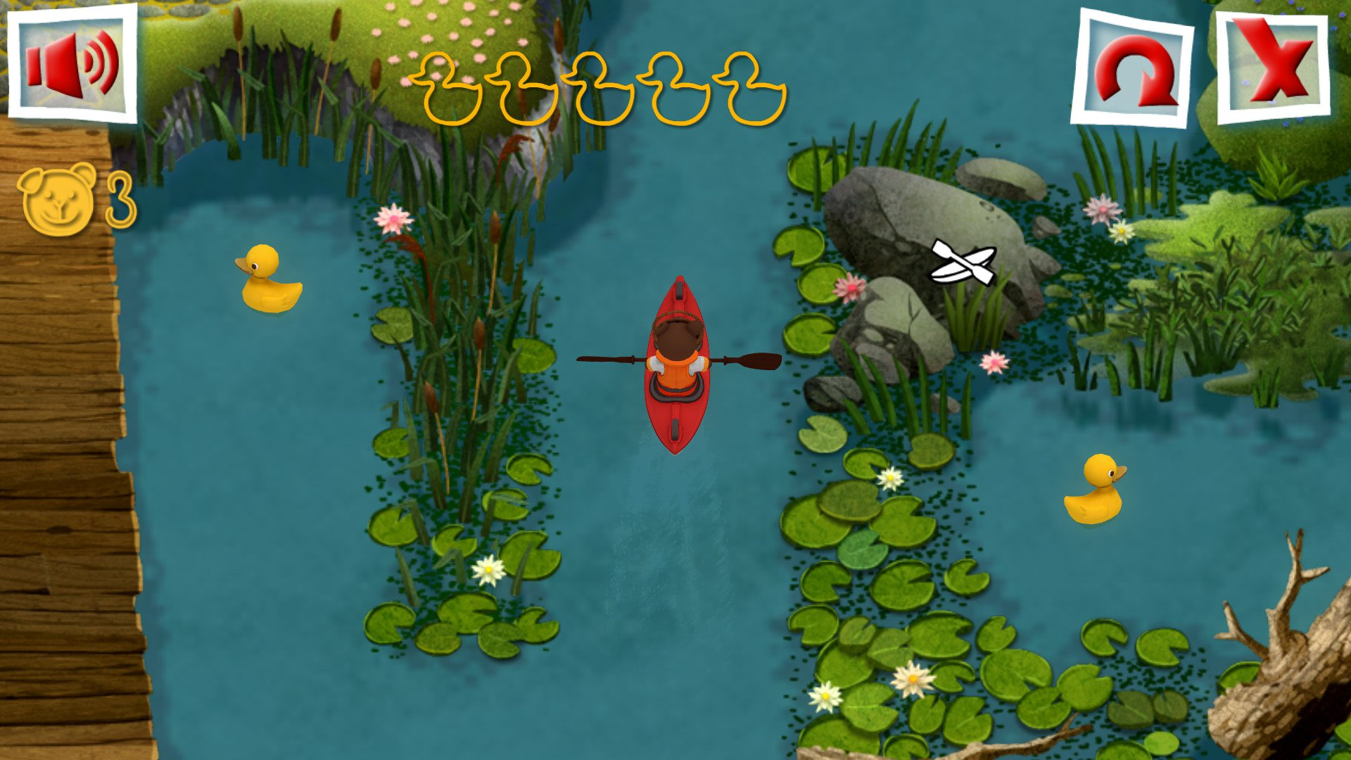 Teddy Floppy Ear Kayaking 11