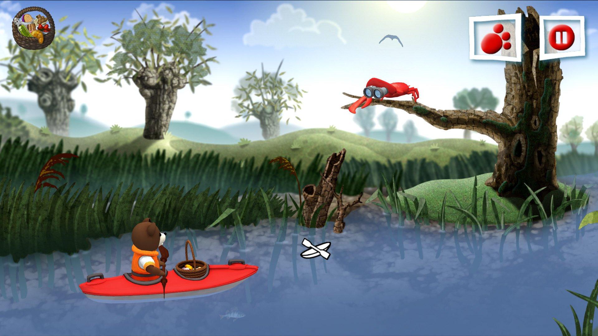 Teddy Floppy Ear Kayaking 3