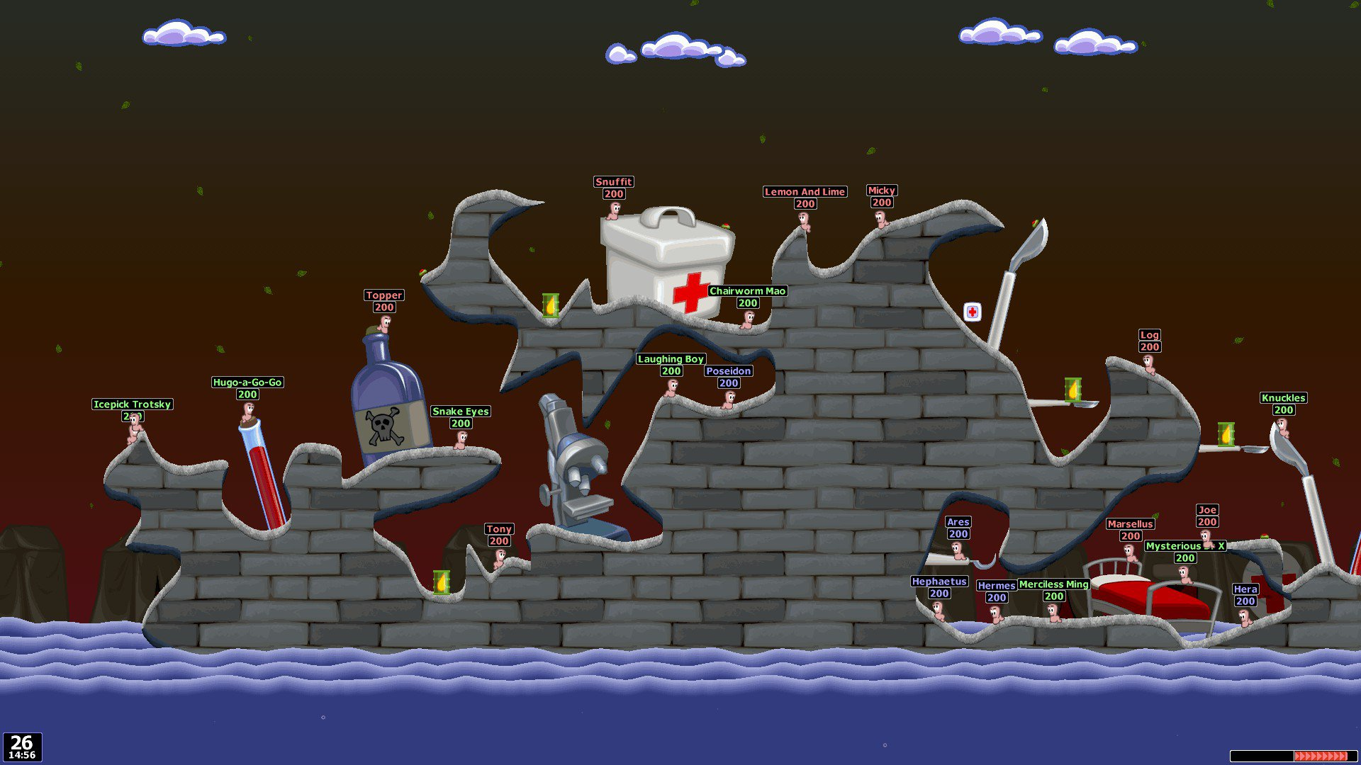 Worms World Party Remastered 10