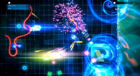 Geometry Wars 3 Dimensions Evolved 1